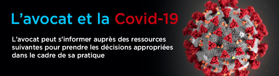 L'avocat et la Covid-19