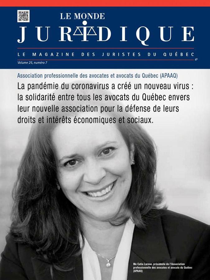 Le Monde Juridique - Volume 25, numéro 7